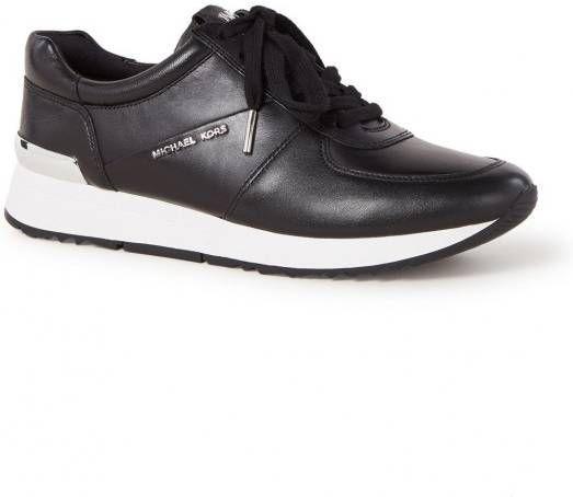 Michael Kors Allie Trainer leren sneakers zwart