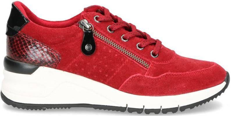 Tamaris Rea Sneaker Dames Rood
