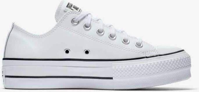 Wonderlijk Witte Lage Geklede Sneakers Converse Chuck Taylor All Stars NT-45