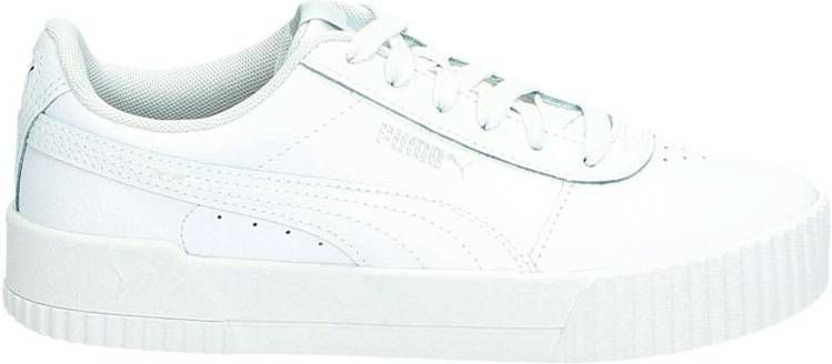 Puma Carina lage sneakers wit