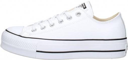 Nieuw Witte Lage Geklede Sneakers Converse Chuck Taylor All Stars OO-17