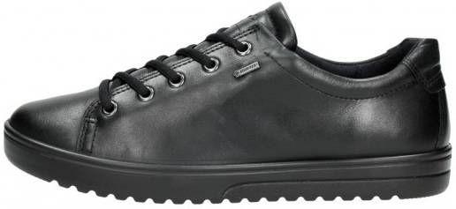 Zwarte Ecco Veterschoenen Fara Black Luxe