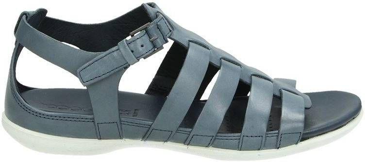 Ecco Intrinsic sandalen grijs Damesschoenen.nl