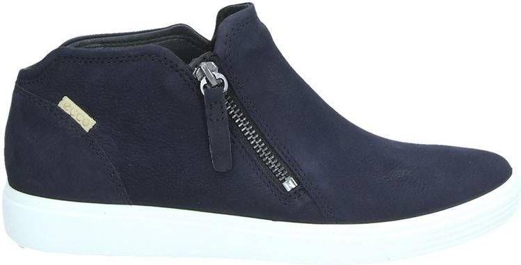 Ecco Soft 7 rits & gesloten boots blauw