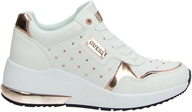 Guess hoge sneakers wit
