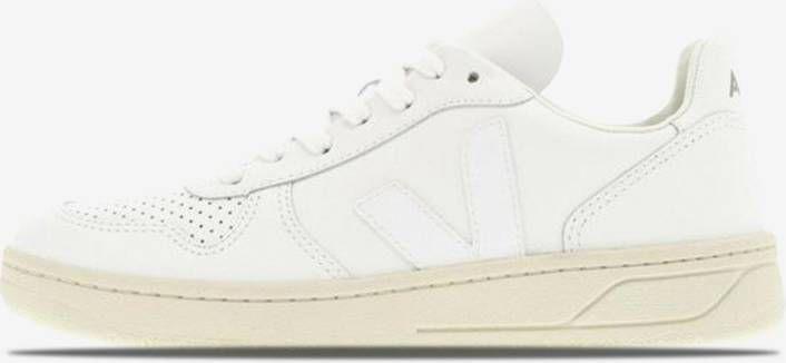 """Veja Women's V-10 Leather """"Extra White"""" online kopen"""