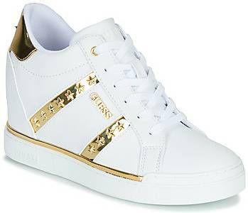 Hoge Sneakers Guess FLOWURS Damesschoenen.nl