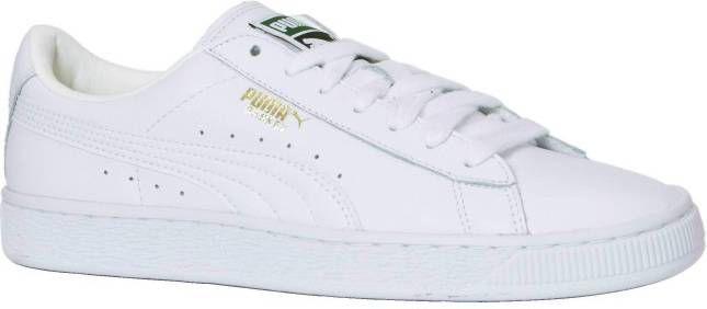 Puma 354367 Heritage Basket 17 White Sneaker