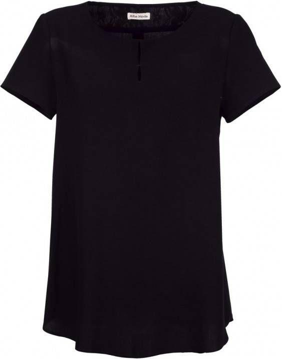 heiß-verkaufende Mode große Auswahl an Designs kommt an Blouse Alba Moda Zwart